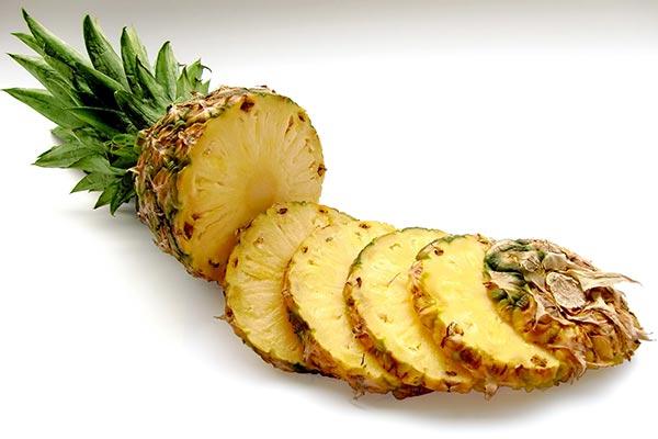 Ananas i skivor- Lindra ledvärk