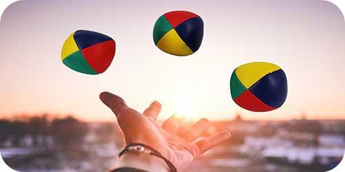 jonglering gör dej smartare