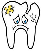 Trasig tand drömmar om tänder