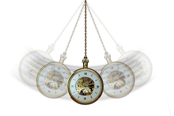 Hypnos funkar det Klocka i rörelse