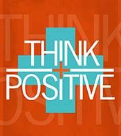Tänka Positivt plus sign