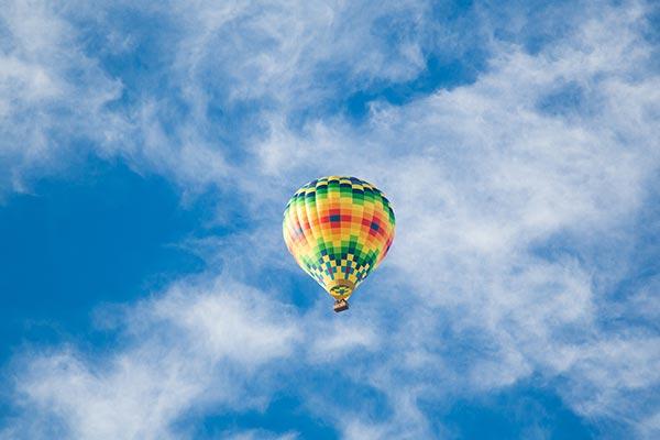 Hot air balloon - Drömtydning flyga