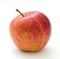 Ett rött äpple - känna tacksamhet